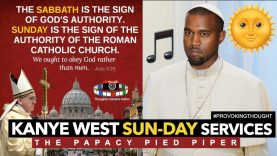 🌞KANYE WEST SUNDAY SERVICE | THE PAPACY PIED PIPER 🎵