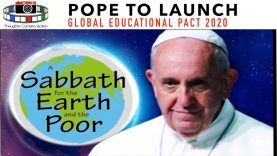 POPE to launch GLOBAL educational PACT 2020 GRETA Thunberg TROJAN