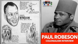 "🇺🇸Paul Robeson Interview: ""Always come back for my people"""