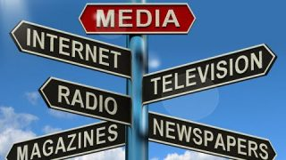 Projection of media