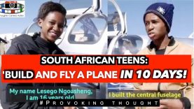 South African Teens: Homemade plane built in 10 DAYS!! makes