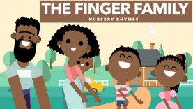 The Finger Family | Nursery Rhymes | The Little Hebrews: