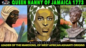 🇯🇲1773 QUEEN NANNY OF THE MAROONS WHO OVERTHREW BRUTAL 🇬🇧THE
