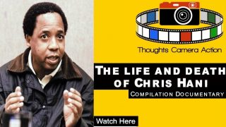 🇿🇦 1993 THE ASSASSINATION OF SOUTH AFRICAN LEADER CHRIS HANI