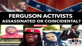 🇺🇸 2014 FERGUSON ACTIVIST: ASSASSINATED OR COINCIDENTAL?