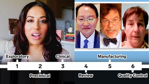 3 Researchers Break Down COVID-19 Vaccines They're Developing (3 Types)