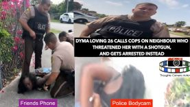 Dyma Loving Calls Cops On Neighbour Who Threatened Her With