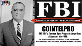 FBI COINTELPRO OPERATION: THE RISE OF A BLACK MESSIAH