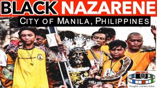 🇵🇭⛪️PHILIPPINES BLACK NAZARENE CATHOLIC PROCESSION: IDOLATRY ?