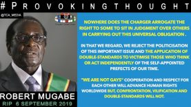 "🇿🇼ROBERT MUGABE ""EUROPEAN NATIONS Pontificate Alphabet Lifestyle To AFRICAN NATIONS"""
