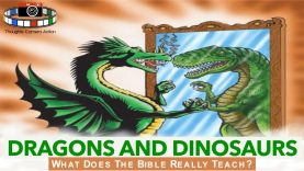 THE BIBLE: DRAGONS AND DINOSAURS #PROVOKINGTHOUGHT🤔