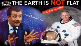 THE EARTH IS NOT FLAT | APOLLO 11 AMAZING