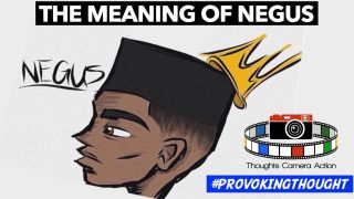 THE MEANING OF NEGUS..,👑 #PROVOKINGTHOUGHT 🤔