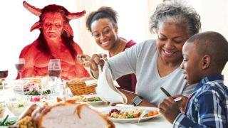 Does Satan have a seat at your table?