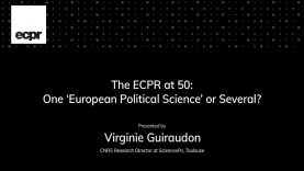 ECPR Stein Rokkan Lecture 2020: The ECPR at 50:One 'European