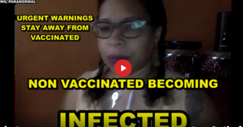 MORE WARNINGS ISSUED – NON VACCINATED BECOMING INFECTED – STAY AWAY FROM THE ZOMBIES