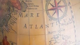 """""""globe"""" Odd Places Old Maps"""