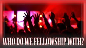 After leaving Christianity who do you fellowship with?