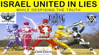 ISRAEL UNITED IN LIES WHILE DESPISING THE TRUTH