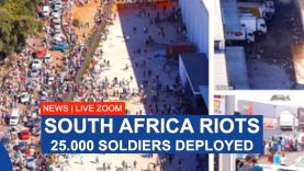 SOUTH AFRICA 25,000 SOLDIERS TO TACKLE RIOTS PRESSURE AND POVERTY?