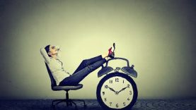 Wasting time and procrastination can stagnate your life
