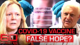 Scientist says a coronavirus vaccine in just 12 months is