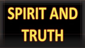 Spirit and Truth Message to the Hebrew Israelites and those