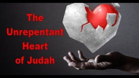 The Unrepentant Heart of Judah and the Rod of Correction