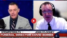 FUNERAL DIRECTOR: MASS VACCINE DEATHS, CHILD DANGER, COVID CAMPS, GENOCIDE PLANNED